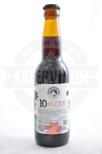 Birra Opperbacco 10eLode bottiglia 33cl