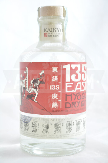 Gin 135° East Hyogo Dry Gin 70cl - Kaikyo Distellery
