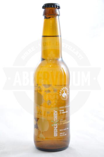 Birra Opperbacco Abruxensis Radici di Genziana bottiglia 33cl