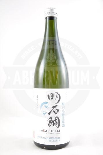 Sake Honjozo Genshu Toubetsu 72cl - Akashi-Tai