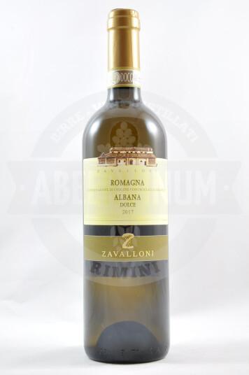 Vino Albana Dolce Romagna DOCG 2017 - Zavalloni