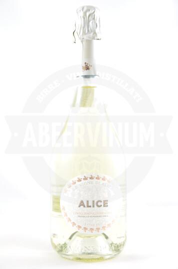 Vino Frizzante Prosecco Superiore di Conegliano Valdobbiadene DOCG Millesimato 2017 Extra Dry- Le Vigne di Alice