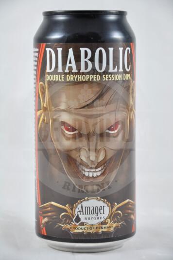 Birra Diabolic Lattina 44cl - Amager
