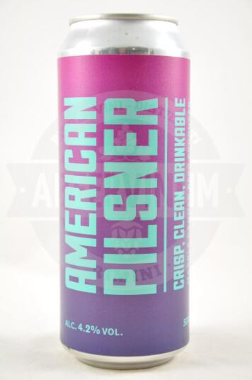 Birra American Pilsner lattina 50cl