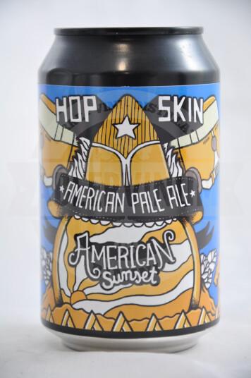 Birra Hopskin American Sunset lattina 33cl