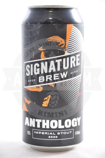 Birra Signature Anthology lattina 44cl