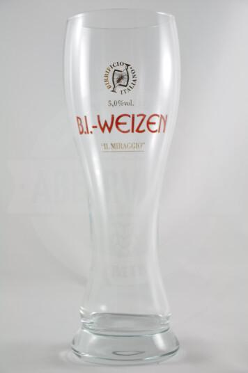 Bicchiere birra Birrificio Italiano Weizen