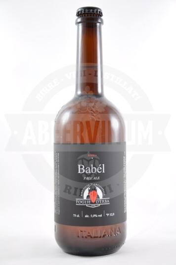 Birra Foglie d'Erba Babél 75cl
