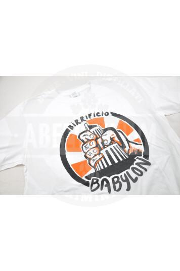 Maglietta Babylon M - Bianco