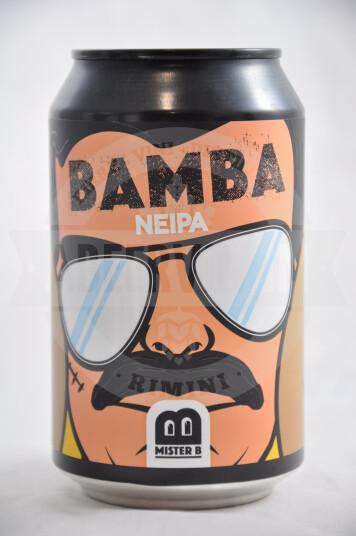 Birra Mister B Bamba Lattina 33cl