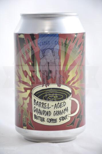 Birra Lervig Granddad Graham's Butter Coffee lattina 33cl