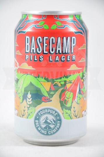 Birra Fourpure Basecamp Pilsner lattina 33cl