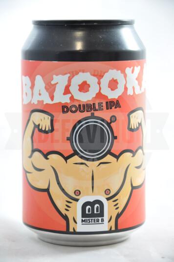 Birra Mister B Bazooka Lattina 33cl
