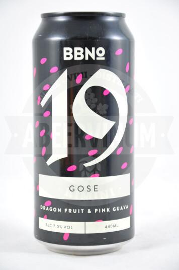 Birra BBNo 19 Gose DragonFruit & Pink Guava Lattina 44cl