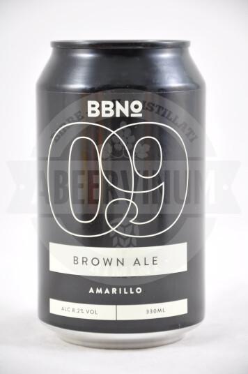 Birra BBNo 09 Brown Ale Amarillo 33cl