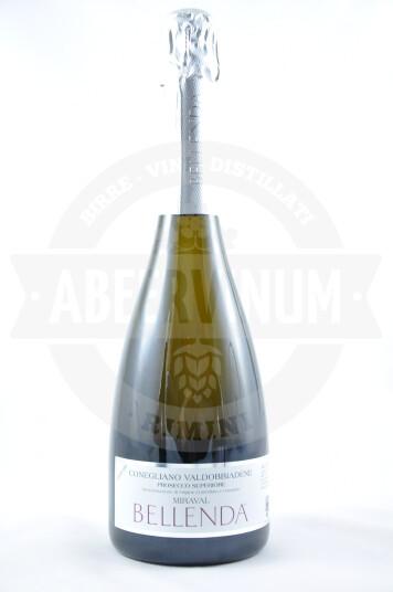Vino Frizzante Miraval Prosecco Superiore di Conegliano Valdobbiadene DOCG Millesimato 2017 Extra Dry - Bellenda