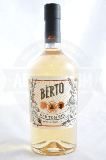 Gin Bérto Old Tom 100cl - Antica Distilleria Quaglia