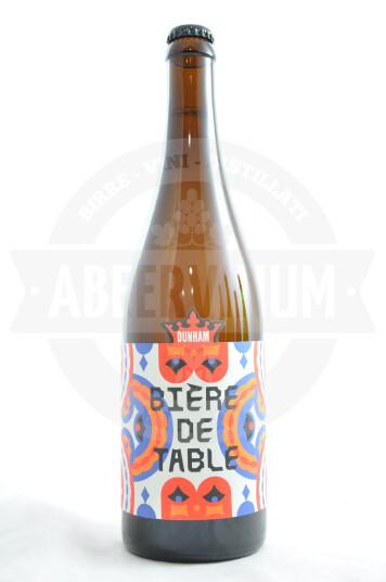 Birra Dunham Bière de Table 75cl