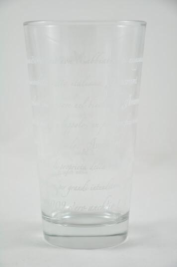 Bicchiere Birra Amarcord vers.2