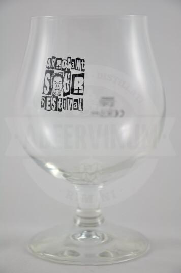 Bicchiere birra Arrogant sour festival