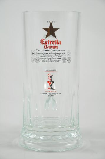 Bicchiere Birra Estrella Damm