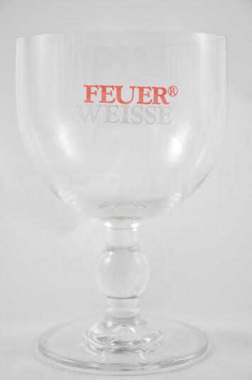 Bicchiere Birra Feuer Weisse