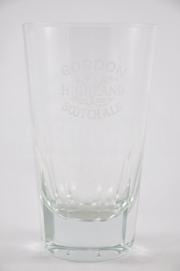 Bicchiere Gordon Scotch ale