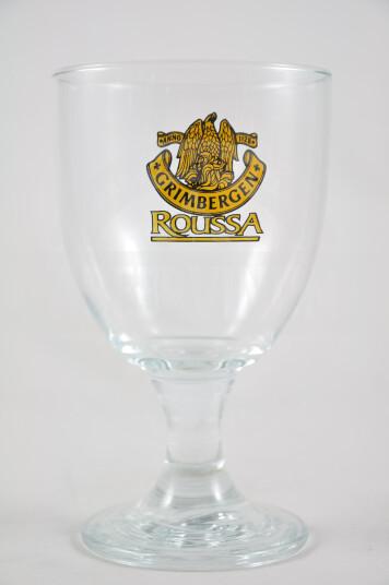 Bicchiere Birra Grimbergen Roussa