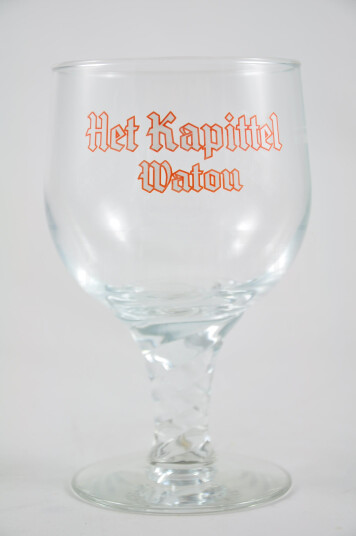 Bicchiere Birra Het Kapittel