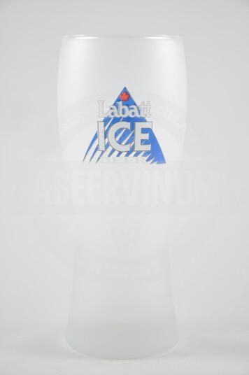 Bicchiere birra Labatt Ice