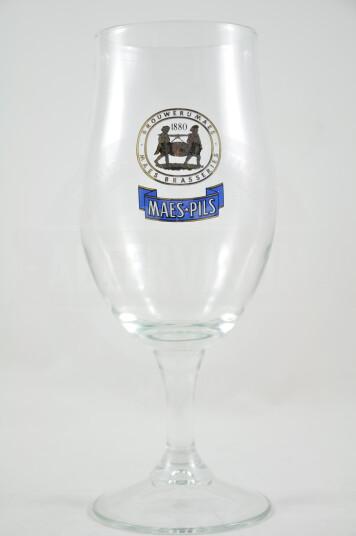 Bicchiere birra Maes Pils