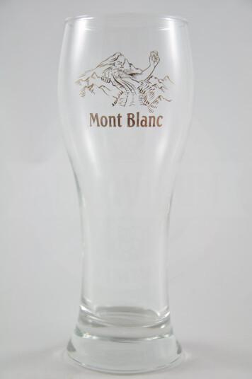Bicchiere Birra Mont Blanc