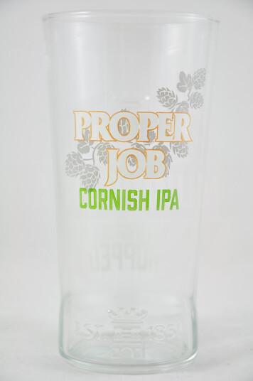 Bicchiere Birra Proper Job