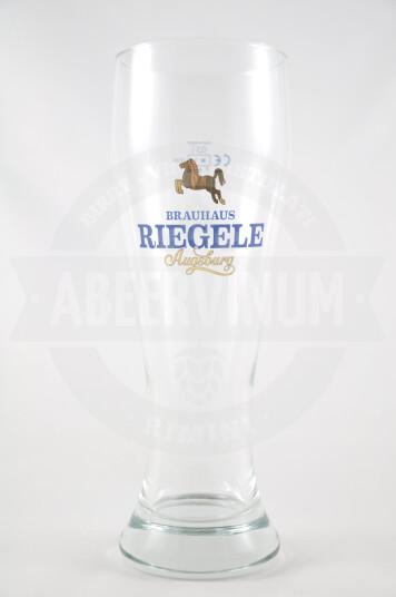 Bicchiere birra Riegele Weisse