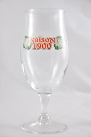 Bicchiere Saison 1900 vers.1