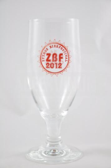 Bicchiere Birra Zythos 2012