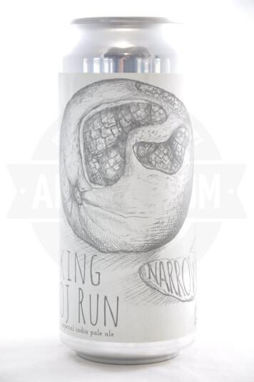 Birra Narrow Gauge King OJ Run(2021) lattina 47.3cl