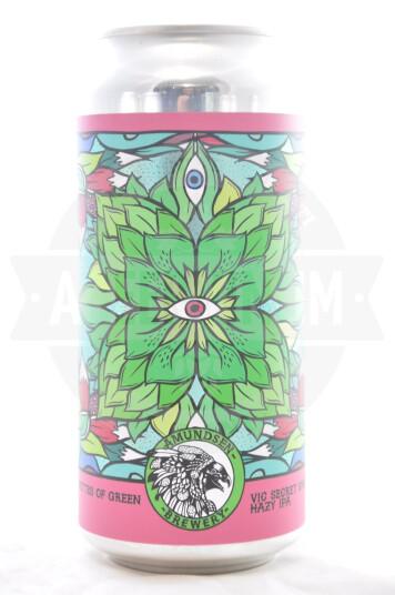 Birra Amundsen Silhouette of Green Vic Secret lattina 44cl