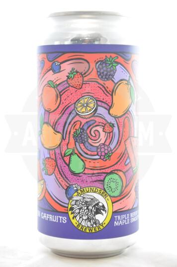 Birra Amundsen In Cafruits - Triple Berry & Maple Smoothie lattina 44cl