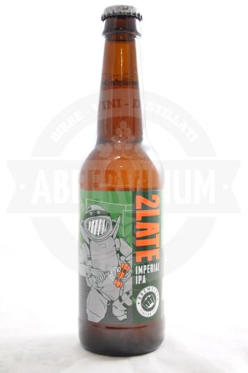 Birra Brewfist 2Late bottiglia 33cl