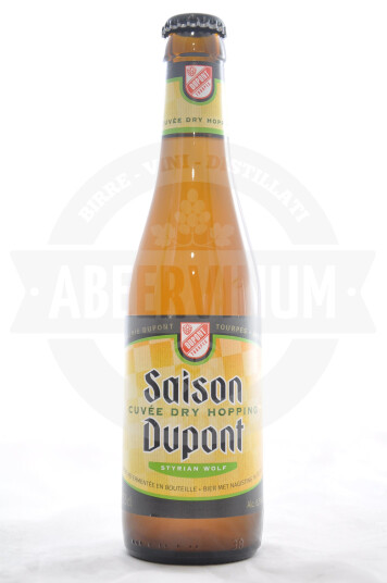 Birra Saison Dupont Cuvée Dry Hopping - Styrian Wolf