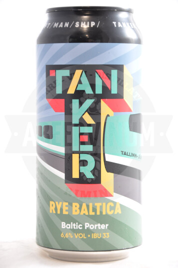 Birra Tanker Rye Baltica lattina 44cl