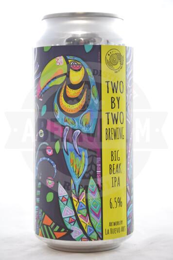 Birra Two By Two Big Beak lattina 44cl