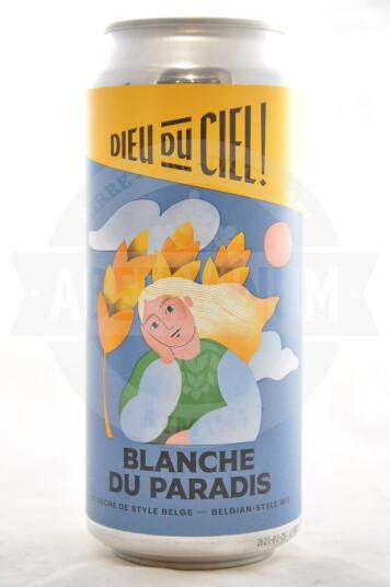 Birra Dieu du CIel! Blanche du Paradis lattina 473ml