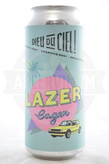Birra Dieu du Ciel! Lazer Lager lattina 47.3 cl