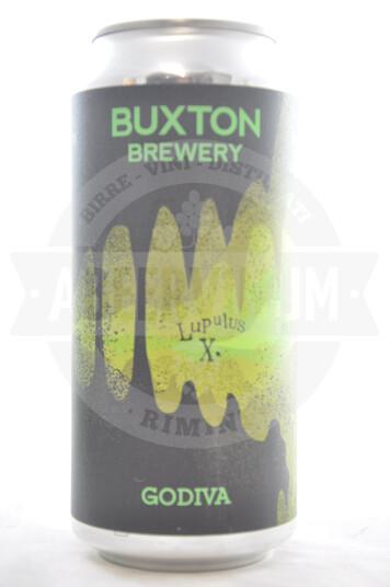 Birra Buxton Lupulus X Godiva lattina 44cl