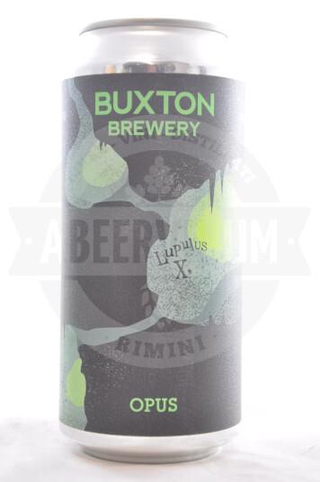 Birra Buxton Lupulus X Opus lattina 44cl