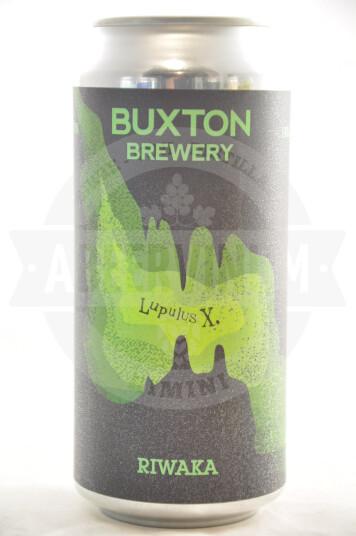 Birra Buxton Lupulus X Riwaka lattina 44cl