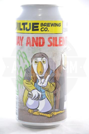 Birra Uiltje Jay and Silent Hop lattina 44cl