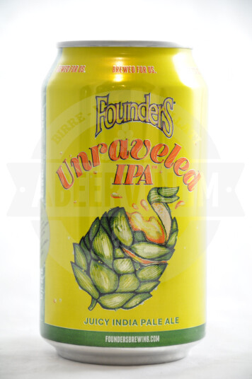 Birra Founders Unraveled IPA lattina 35.5cl